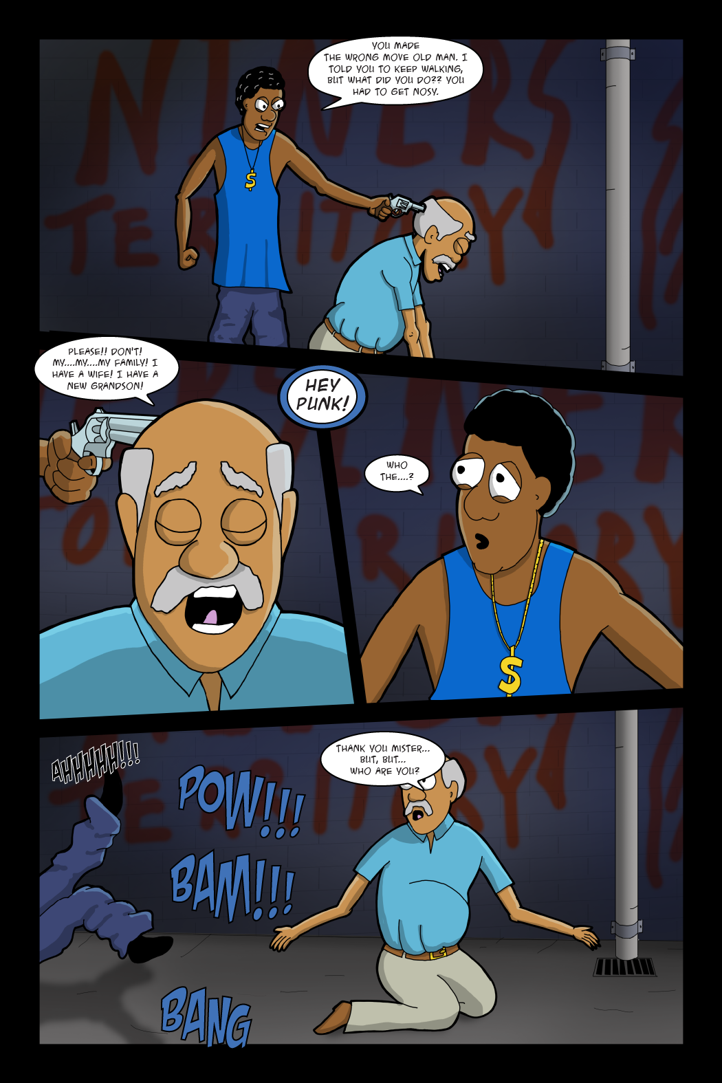 Adventures with Capt'n Heroic: In the Beginning – Page 10