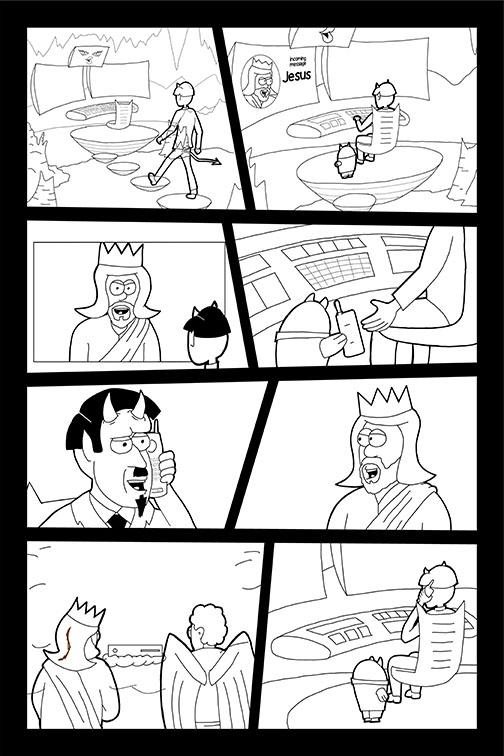 Comic Book Art Page 19_line