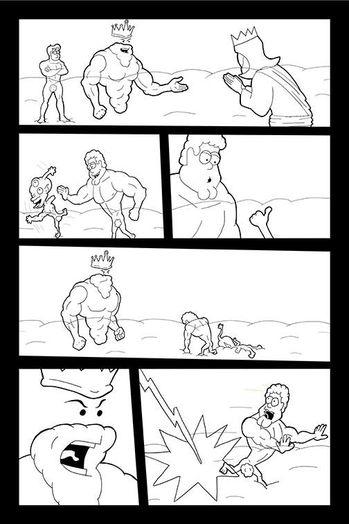 Comic Book Art Page 28_line