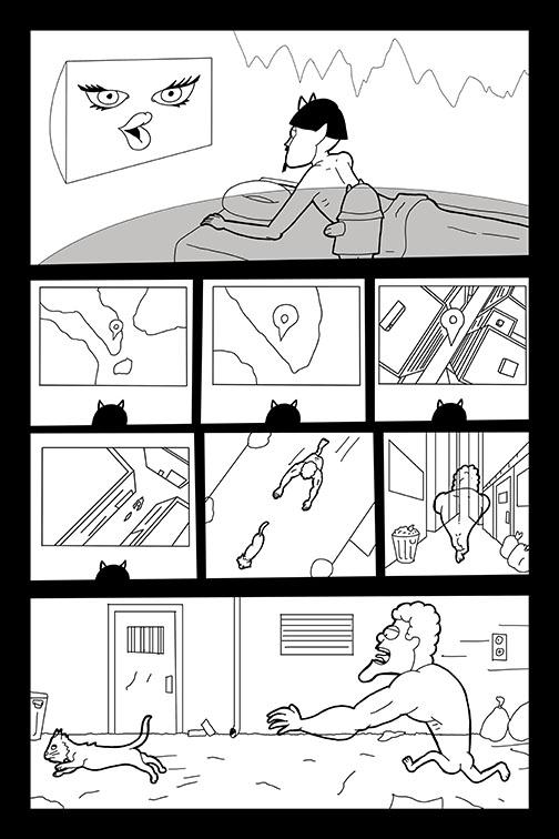 Comic Book Art Page 46_line